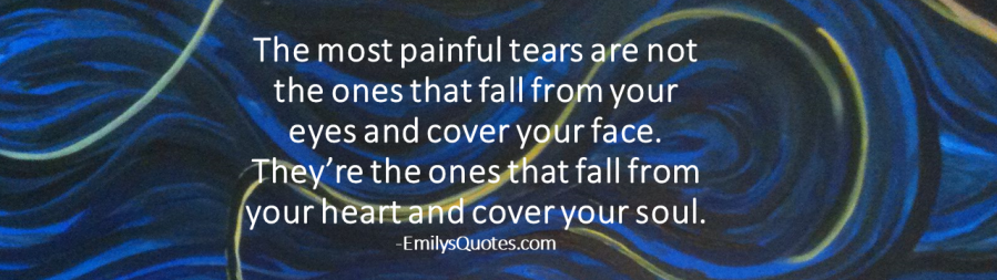 2018 04 30 SJ journal phtot and quote - the most painful tears are not the ones